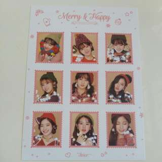 twice Merry&Happy貼紙