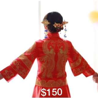 Wedding Gown for Tea Ceremony