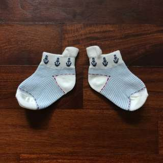 Assorted Baby Socks - Stripes