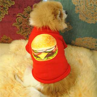 HAMBURGER SHIRT FOR PETS