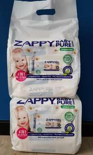 Zappy Baby Pure Wipes (Organic)