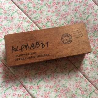 Alphabet Stamp Pad