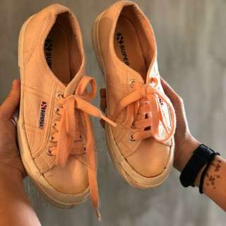 Superga Salmon Sneakers