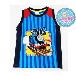 Kids Clothes Boys Clothing Sleeveless Tops T-Shirt Cotton