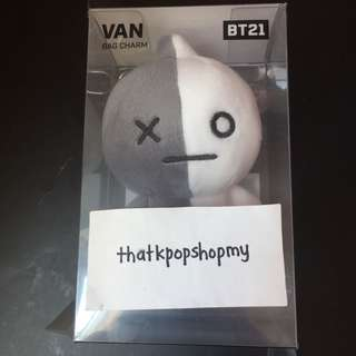 BT21 MD BAG CHARM VAN