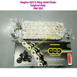 Regina 525 Touring Street X-Ring Gold
