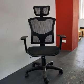 頸枕透氣全網辦公椅 電腦椅 主管椅