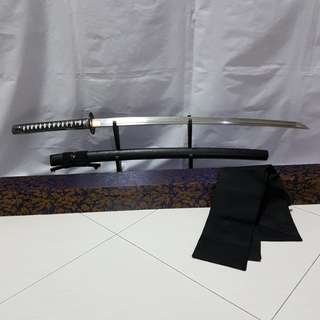 T-10 Clay tempered katana