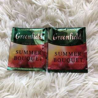 🔴(2pcs)Greenfield - Summer Bouquet Teabags