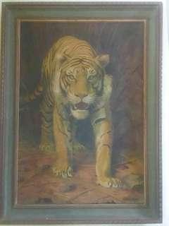 Lukisan Macan Antik & Kuno