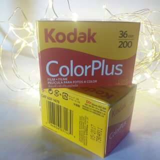 Kodak ColorPlus film 36 shots
