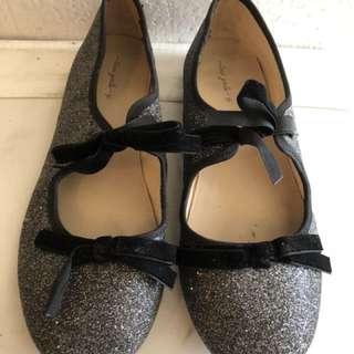 Zara girl black glitter