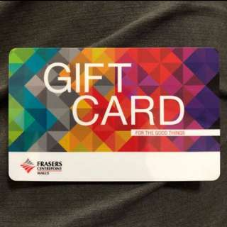 FRASERS Centrepoint Malls $50 Gift Card (Reserved)