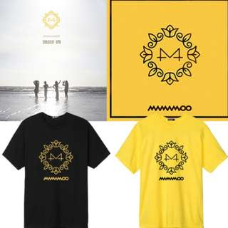MAMAMOO Yellow Flower Unofficial Shirt