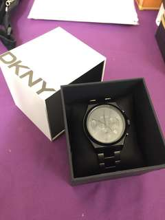 DKNY stainless steel watch石英錶