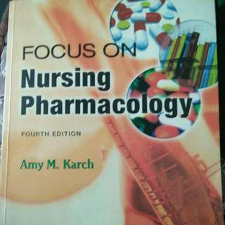 Nursing pharma