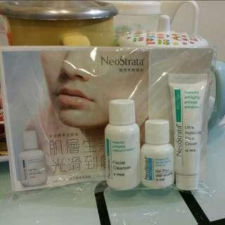 全新 NeoStrata Home Peel 醫學煥膚體驗裝一套3枝 Sample 試用