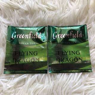 🔴(2pcs)Greenfield - Flying Dragon Teabags