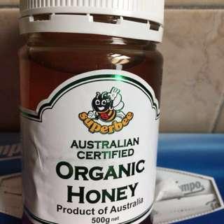 正宗澳洲袋鼠牌蜂蜜,500g,有效期至23/01/2022