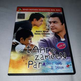 1 x almost new Taare Zameen Par VCD with free normal postage