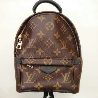 *fixed price, no trades* LV Louis Vuitton Palm Springs Mini Backpack in Monogram Canvas