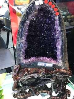 Amethyst Crystal (特A紫晶洞)