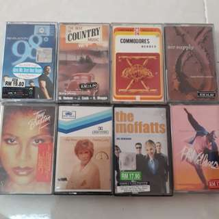kaset vintage