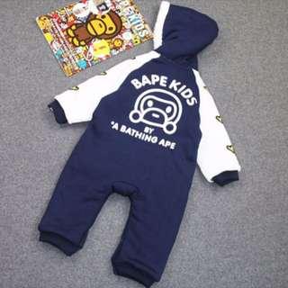 日本潮牌超厚連身衣