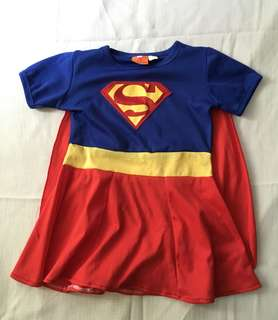 Charity Sale! Supergirl Superman Baby Dress size 2 Costume