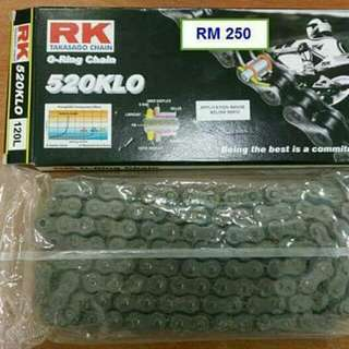 RK 520 O-Ring Chain