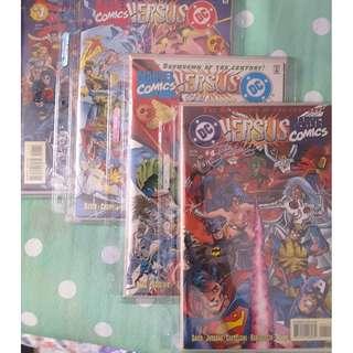 Limited Edition DC Versus Marvel Comics #1-4