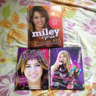 Miley Cyrus/Hannah Montana Fan Books Bundle