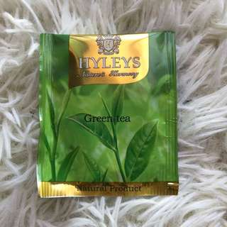 🔴(1pc)HYLEYS - Green Tea Teabags
