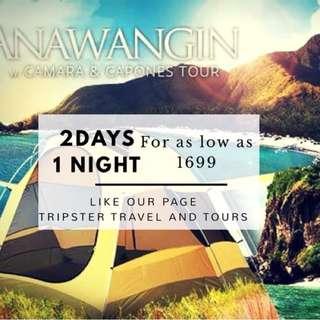 Anawangin tour packge