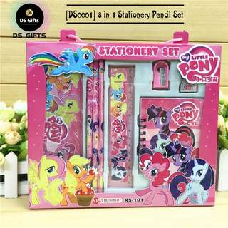 My Little Pony - 8 in 1 Stationary Set