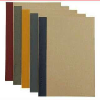 Muji A5 single line Notebooks