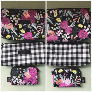BNWT Jujube Black & Bloom Be Set