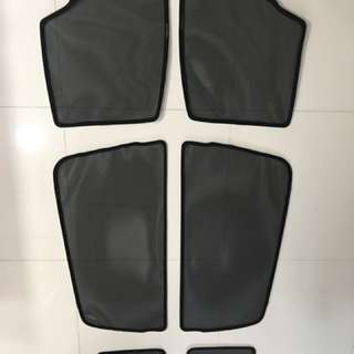Car Shades (6 pieces) - BMW 216 Gran Tourer