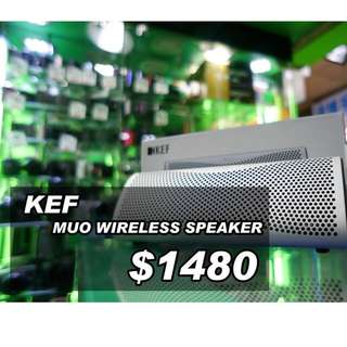 KEF MUO wireless speaker
