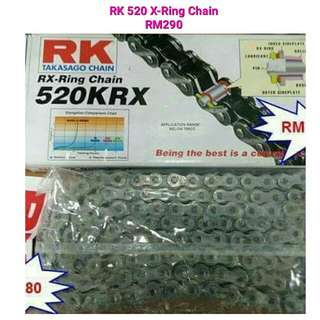 RK 520 X-Ring Chain