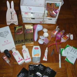 REPRICED!! Make up bundle! With femme essentials! With Make up organizer!