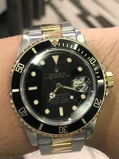 Rolex submariner spider web 16803
