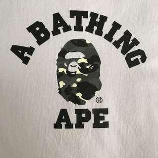 BAPE COLLEGE TEE