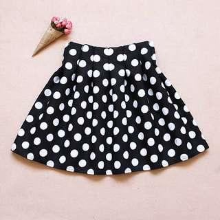 Polka Dots HW Skirt