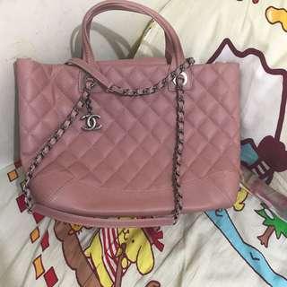Chanel 粉紅色手袋