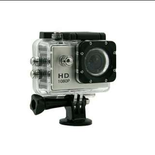 HD Sports and Waterproof Action Camera