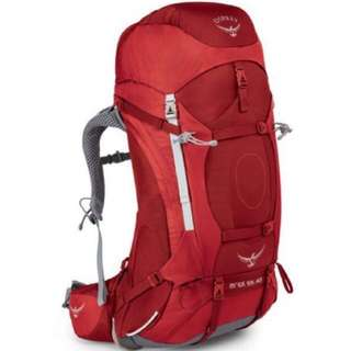 OSPREY ARIEL AG™ 55 BACKPACKING   MOUNTAINEERING