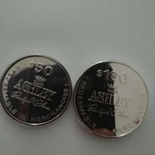 William ashley coins
