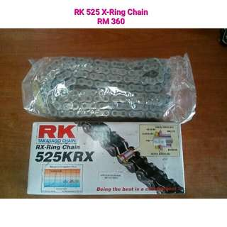 RK 525 X-Ring Chain