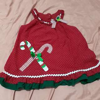 christmas dress/top 2-4 y/o